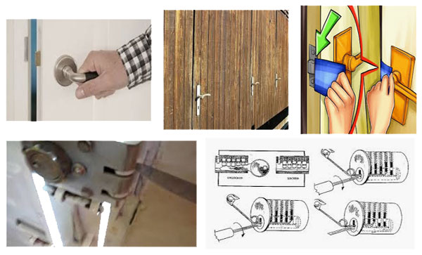 4 Maneras de Cómo Abrir Una Puerta Sin Llave